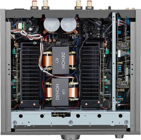 Inside of Denon PMA-A110 integrated amplifier