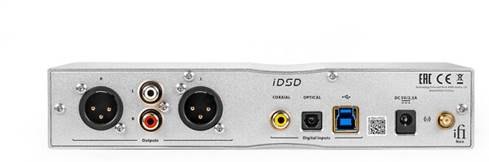 iFi Neo iDSD back-panel connections