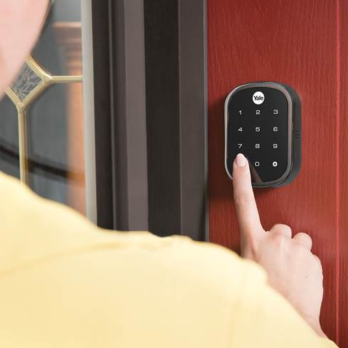 Yale Assure Lock Touchscreen provides keyless entry to your home.