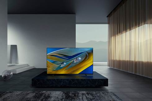 "Sony BRAVIA XR-55A80J 55"" 4K Smart OLED TV with HDR"