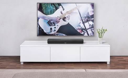 Denon Home Sound Bar 550 powered sound bar with built-in HEOS