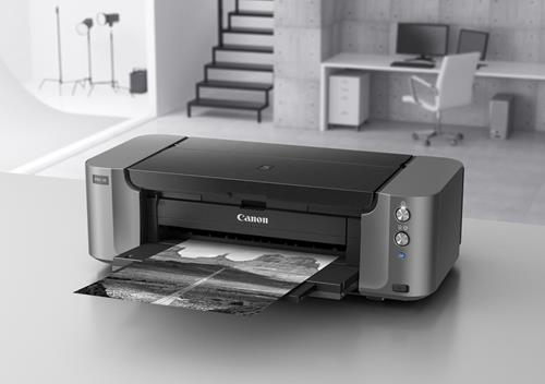 Canon PRO10 printer in the studio