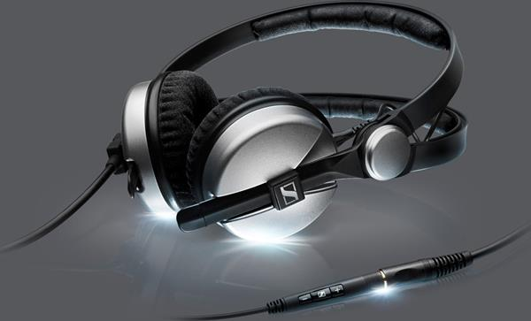 Sennheiser Amperior headphones with in-line remote and microphone