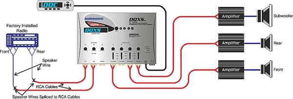 x161DQXSS O audiocontrol dqxs (silver) 6 channel digital equalizer with 4 way audiocontrol epicenter wiring diagrams at n-0.co