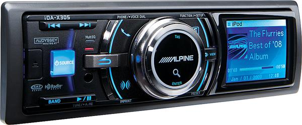 Alpine iDA-X305 digital media receiver