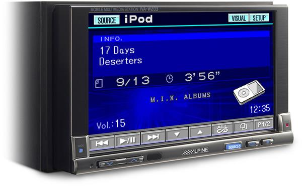 Alpine iVA-W203 receiver
