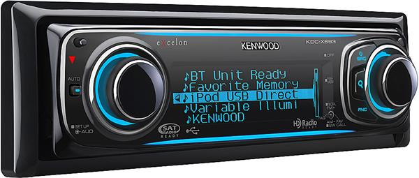 Kenwood Excelon KDC-X693 CD receiver