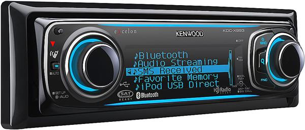 Kenwood Excelon KDC-X993 CD receiver
