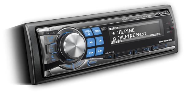 Alpine CDA-9887 CD receiver