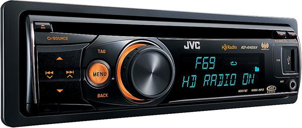 JVC Arsenal KD-AHD69