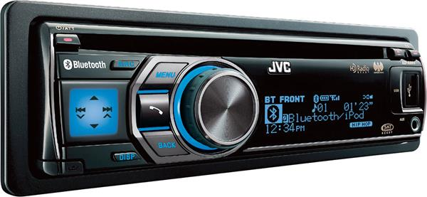 JVC's KDA805 CD receiver