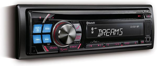 Alpine's CDE-125BT CD receiver