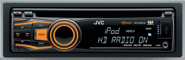 JVC Arsenal KD-AHD79