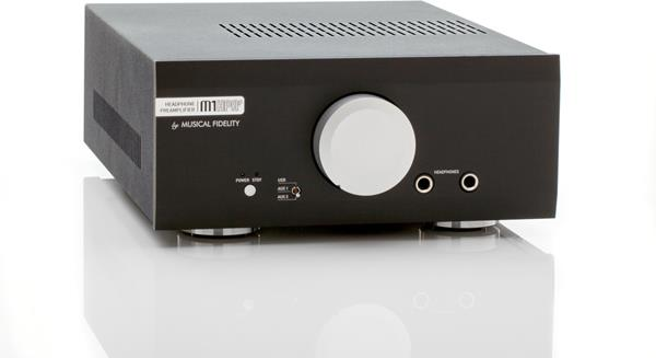 Musical Fidelity M1HPAP angled view