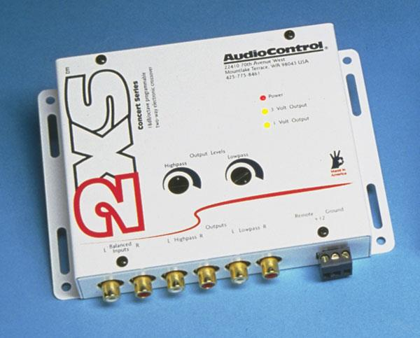 Audio Control 2XS 2-way crossover