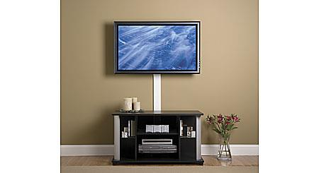 how to wall mount your flat panel tv. Black Bedroom Furniture Sets. Home Design Ideas