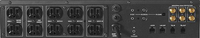 Panamax MX5102 back panel