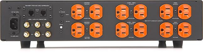 Furman Elite-15 PFi back panel