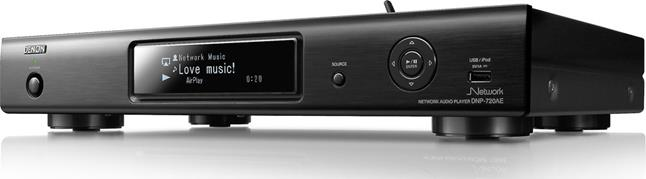 Denon DNP-720AE network music player with Apple AirPlay
