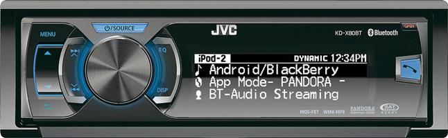 JVC Arsenal KD-X80BT digital media receiver