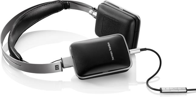 Harman Kardon CL on-ear headphone with in-line remote and microphone