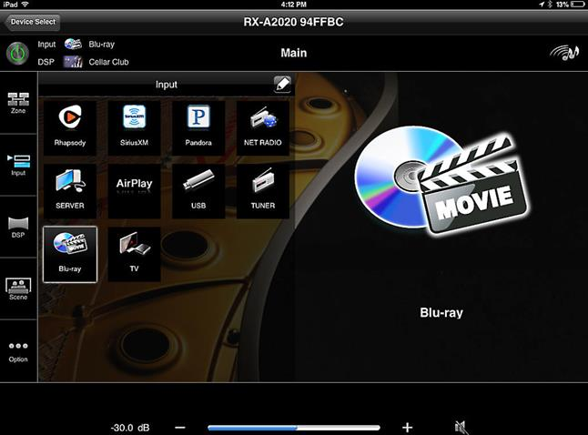 Yamaha remote app for iPad