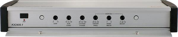 Kicker KX2400.1 control panel