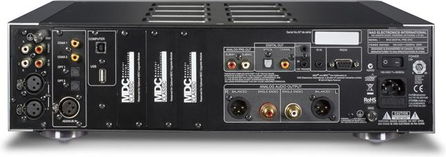 NAD Masters Series M12 digital preamp/DAC