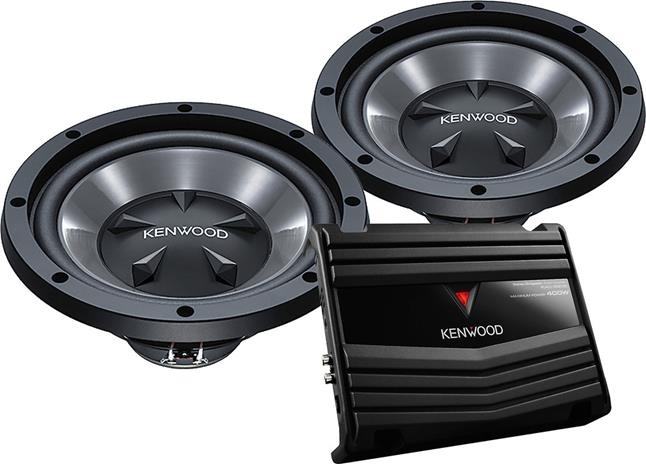 Subwoofers and an amplifier