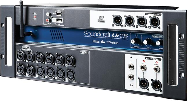 review of the soundcraft ui16 remote control digital mixer. Black Bedroom Furniture Sets. Home Design Ideas