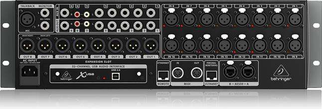 behringer x32 rack rack mount 16 channel digital mixer at crutchfield. Black Bedroom Furniture Sets. Home Design Ideas