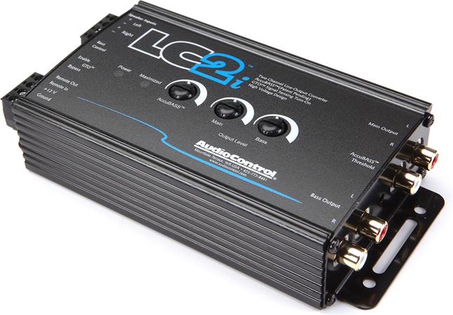 AudioControl LC2iB 2-channel line output converter