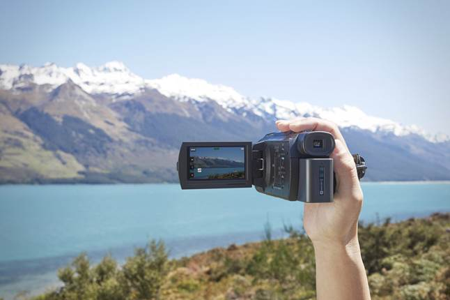 Use the Sony Handycam FDR-AX33's 4K video feature to do this majestic scene full justice.