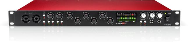 Focusrite Scarlett 18i20 computer audio interface