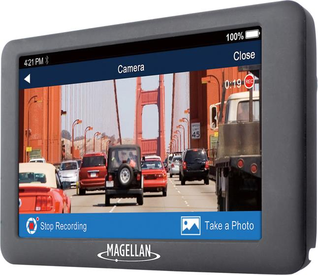 Magellan RoadMate 6630T-LM portable navigator with dash cam