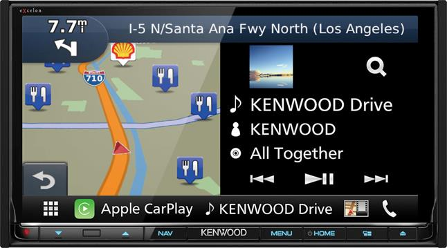 Kenwood Excelon DNX893S Navigation receiver at Crutchfield.com