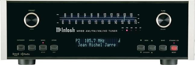 McIntosh MR88 AM/FM tuner with HD Radio™ at Crutchfield