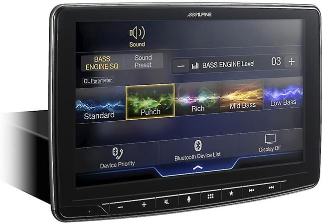 Alpine iLX-F309 digital media receiver