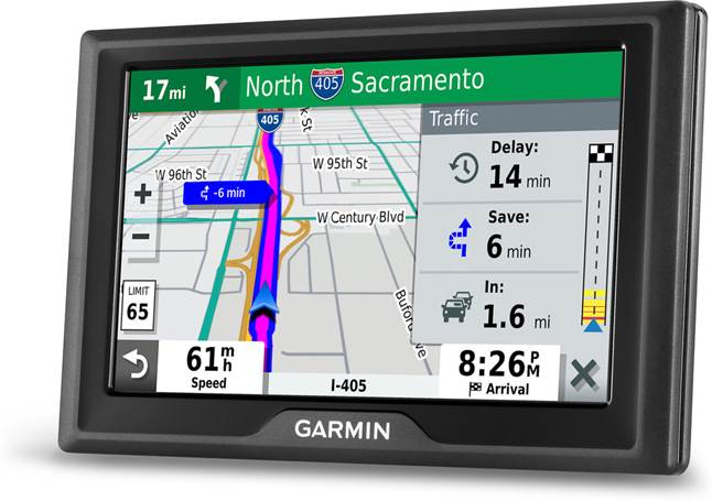 Garmin DriveSmart 52 & Traffic portable GPS navigator