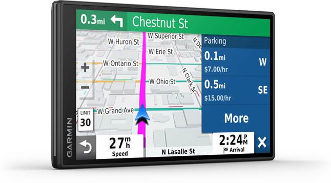 Garmin DriveSmart 55 & Traffic portable GPS navigator