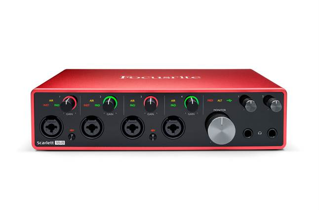 Focusrite Scarlett 18i8 computer audio interface