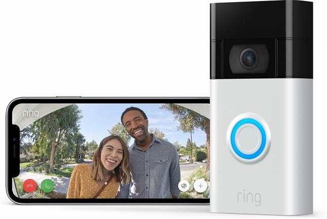 Ring Video Doorbell lets you see guests