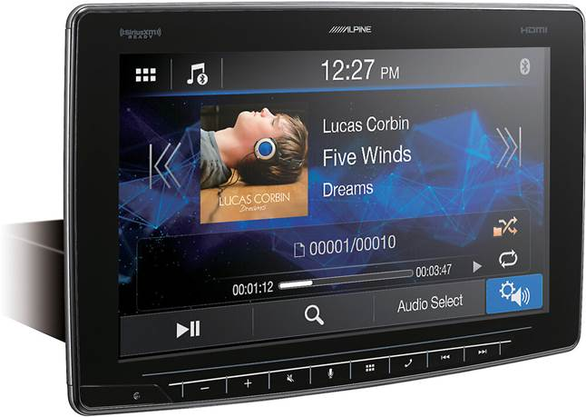 Alpine iLX-F411 digital media receiver