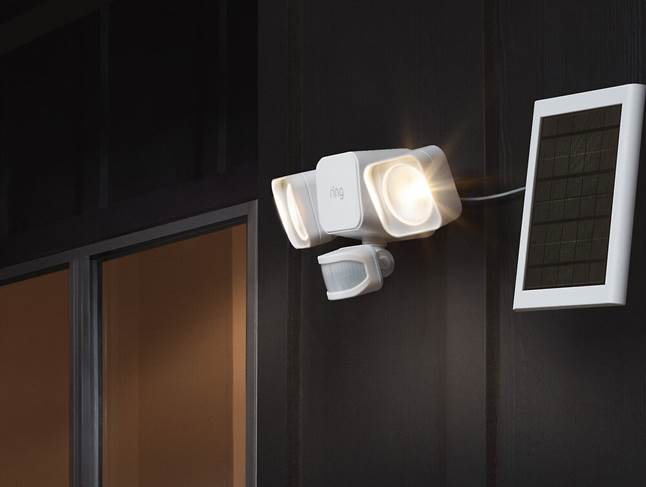 Ring Smart Lighting Solar Floodlight