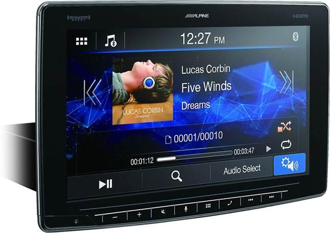 Alpine iLX-F409 digital media receiver