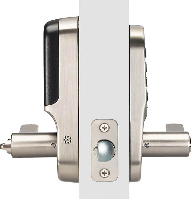 Yale Real Living Lever Lock on door