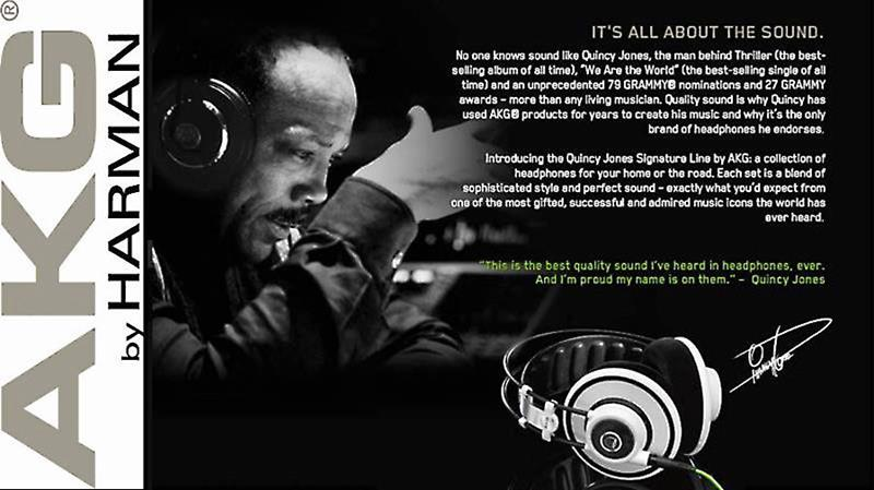 Quincy Jones headphones