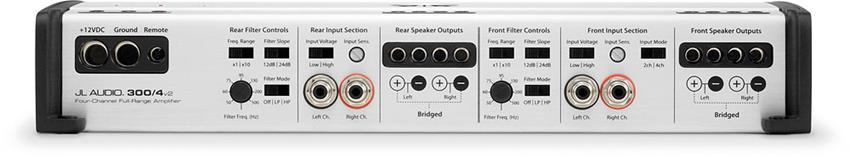 x1363004V2 b jl audio slash v2 series 300 4v2 4 channel car amplifier 75 watts jl audio 300 4 wiring diagram at alyssarenee.co