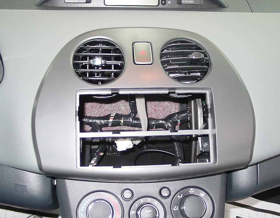2006 2012 mitsubishi eclipse car audio profile Mitsubishi Eclipse Radio 8701A045 metra 99 7010 dash kit for the eclipse