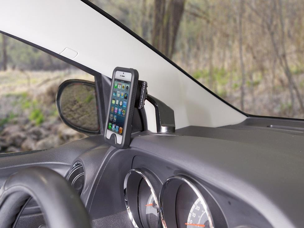 Keep You And Your Phone Safe With A Dash Mounting Kit
